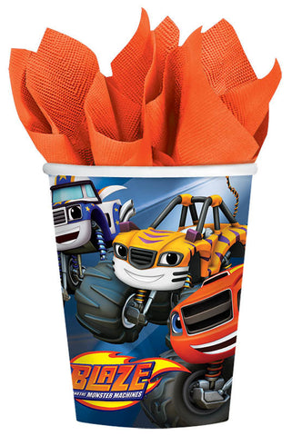 Blaze and the Monster Machines Cups, 9 oz.
