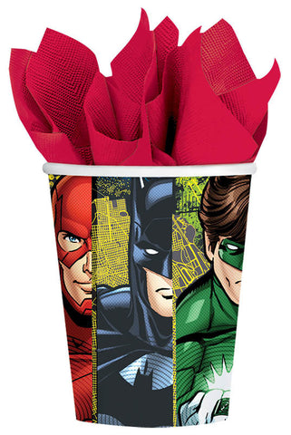 Justice League Cups, 9 oz. 8ct.