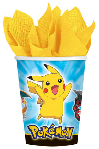 Pikachu and Friends 9 oz. Cups