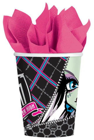 Monster High Cups 9oz. 8ct.