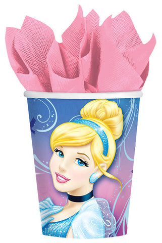 Disney Cinderella Cups, 9 oz. 8ct.