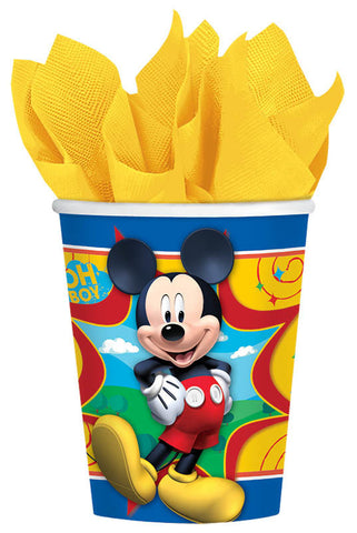 Disney Mickey Mouse cups, 9 oz.