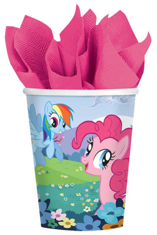 My Little Pony Friendship Cups 9oz. 8ct.