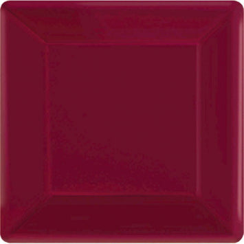 "Berry 7"" Square Paper Plates 20ct."
