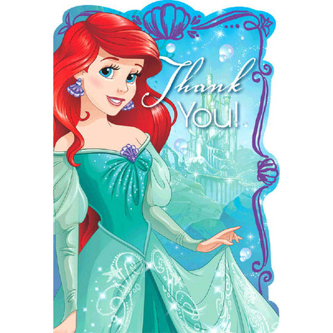 Ariel Dream Big Postcard Thank You 8ct.