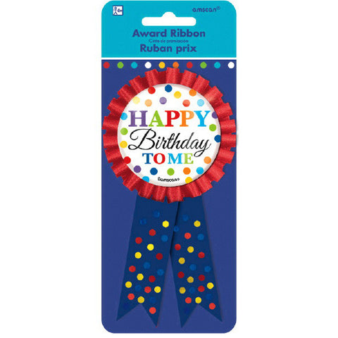 Bright Birthday Award Ribbon