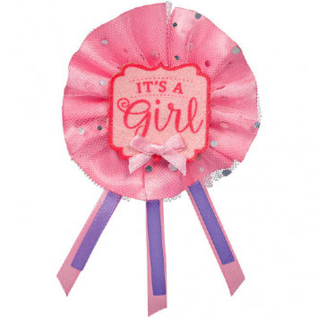 Baby Girl Fancy Award Ribbon