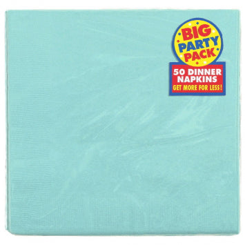 Robin's-egg Blue 3-Ply Dinner Napkins 20ct.