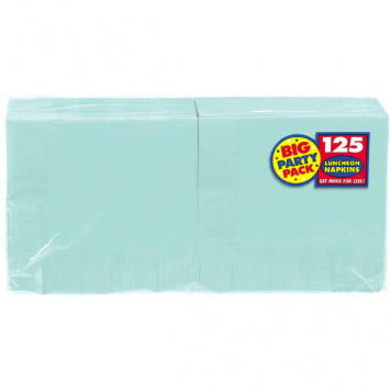 Robin's Egg Blue Big Party Pack Luncheon Napkins 125ct.