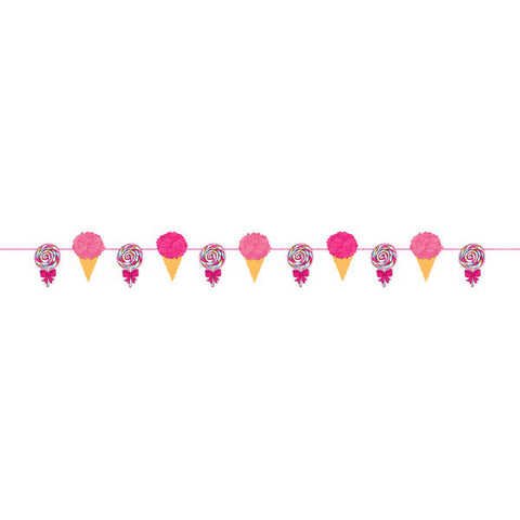 Sweet Party Fluffy Garland