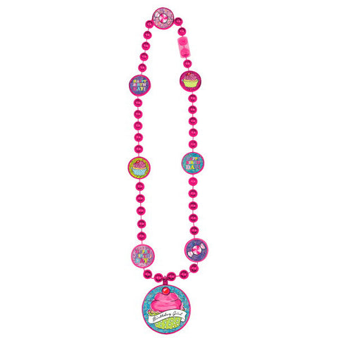 Sweet Party Party Bead Necklace