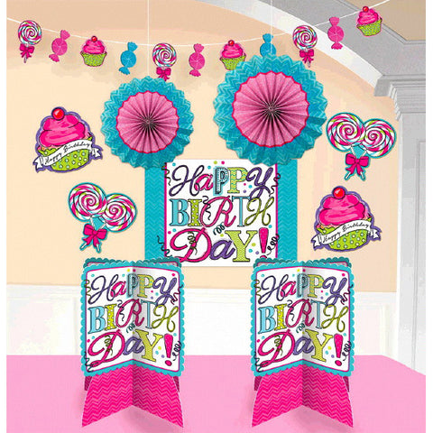 Sweet Party Room Decorating Kit