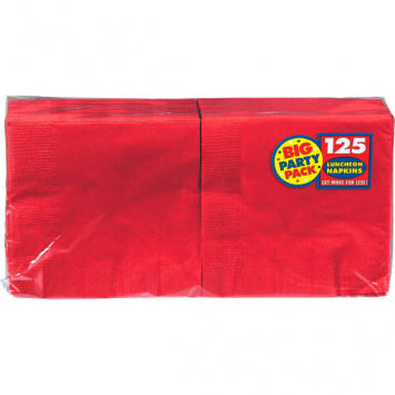 Apple Red Big Party Pack Luncheon Napkins 125ct.