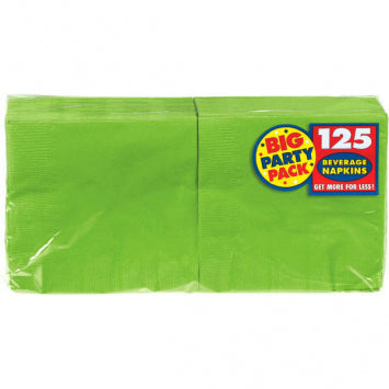 Kiwi Big Party Pack Beverage Napkins 125ct.
