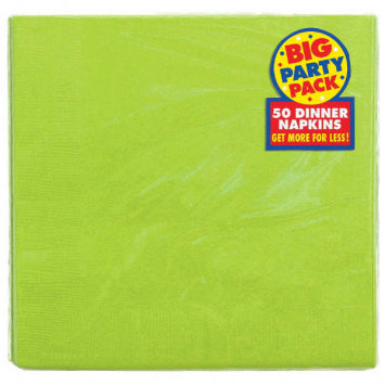 Kiwi Big Party Pack 2-Ply Dinner Napkins 50ct.