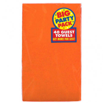 Orange Peel Big Party Pack 2-Ply Guest Towels 40ct.