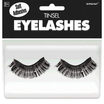 Black Tinsel Eyelashes
