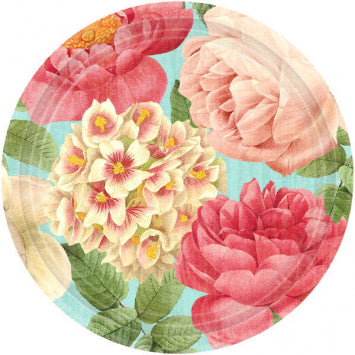 "Blissful Blooms 7"" Plates 18ct."