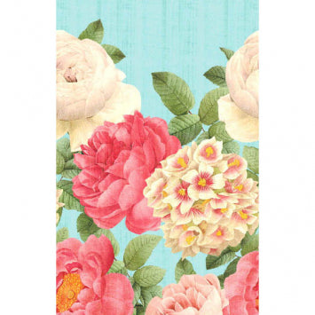 Blissful Blooms All-Over Print Paper Table Cover