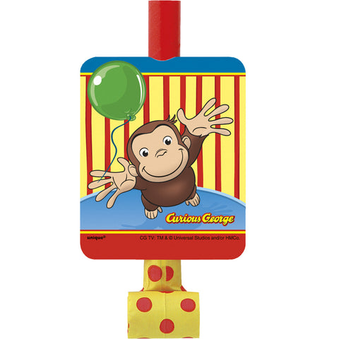 Curious George Blowouts 8ct.