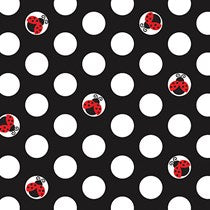 Ladybug Fancy Beverage Napkins 16ct.