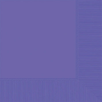 New Purple 3-Ply Beverage Napkins 50ct.