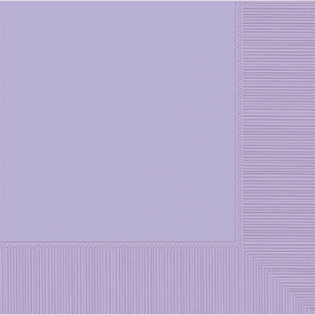 Lavender 3-Ply Beverage Napkins 50ct.