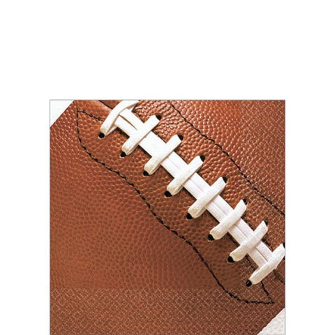 Football Fan Beverage Napkins 16ct.