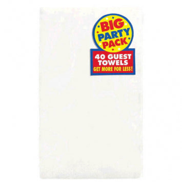 Frosty White Big Party Pack 2-Ply Guest Towels 40ct.