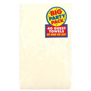 Vanilla Crème Big Party Pack 2-Ply Guest Towels 40ct.