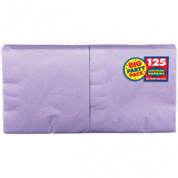 Lavender Big Party Pack Luncheon Napkins 125ct