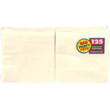 Vanilla Crème Big Party Pack Luncheon Napkins 125ct.