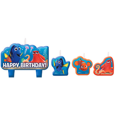Finding Dory Birthday Candle Set 4ct.