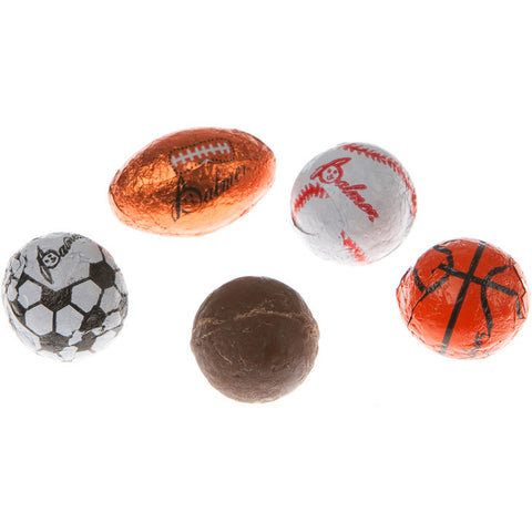 Chocolate Sports Ball