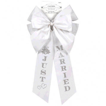 """Just Married"" Car Bow"