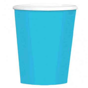 Caribbean Blue Blue Big Party Pack 12oz. Paper Coffee Cups 40ct.