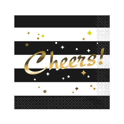 Chic Party Beverage Napkins 16ct