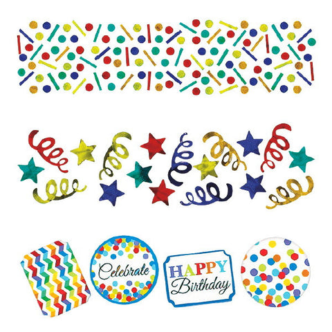 Bright Birthday Value Pack Confetti