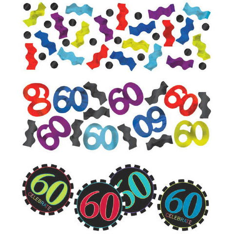 60th Celebration Value Pack Confetti