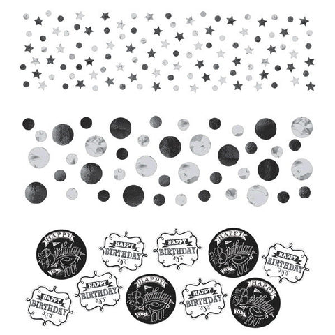 Chalkboard Birthday Value Pack Confetti