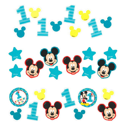 Mickey's Fun To Be One Value Pack Confetti
