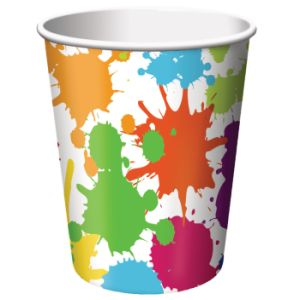 Art Party 9 oz Hot/Cold Cups 8ct.