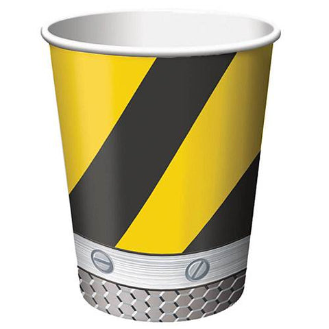Construction Birthday Zone 9 oz Hot/Cold Cups 8ct.