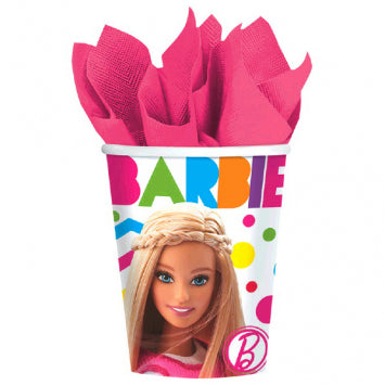 Barbie Sparkle Cups, 9 oz.  8ct.