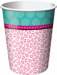 Sparkle Spa Party! 9 oz Hot/Cold Cups 8ct.