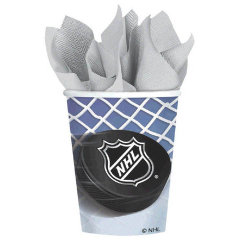 NHL Ice Time! 9 oz. Cups 8ct.