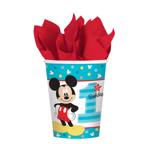 Mickey's Fun To Be One Cups, 9 oz. 8ct.