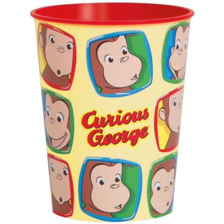 Curious George Plastic Cup