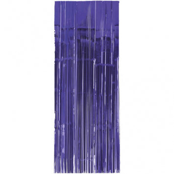 Purple Metallic Curtain