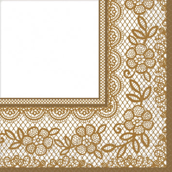 Delicate Lace Luncheon Napkins 16ct.